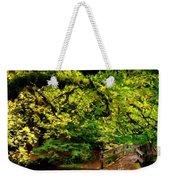 Landscape Acrylic Painting Weekender Tote Bag