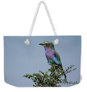 Lilac-breasted Roller Weekender Tote Bag