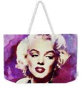 Marilyn Monroe, Actress And Model Weekender Tote Bag