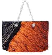 Molten Pahoehoe Lava Weekender Tote Bag