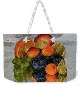 Multicolor Fruits Weekender Tote Bag