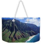 Na Pali Coast Aerial Weekender Tote Bag