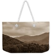 Nature Landscapes Around Lake Santeetlah North Carolina Weekender Tote Bag