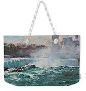 Niagara Falls Weekender Tote Bag