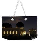 Night At Griffeth Observatory Weekender Tote Bag