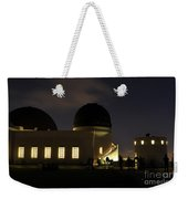 Night At Griffeth Observatory Weekender Tote Bag
