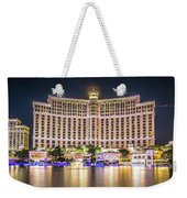November 2017 Las Vegas Nevada - Scenes Around Bellagio Resort H Weekender Tote Bag