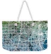 Omaha Nebraska City Map Weekender Tote Bag