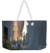 Party Setting With Bokeh Background Weekender Tote Bag