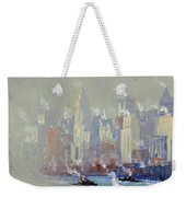 Pennell, New York City.  Weekender Tote Bag