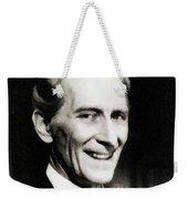 Peter Cushing, Vintage Actor Weekender Tote Bag