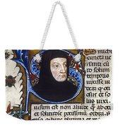 Petrarch (1304-1374) Weekender Tote Bag