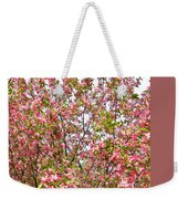 Pink Cherry Tree Weekender Tote Bag