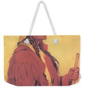Portrait Of Billjones Joseph Henry Sharp Weekender Tote Bag