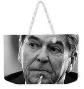 President Ronald Reagan Weekender Tote Bag by War Is Hell Store