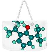 Propofol Diprivan Molecular Model Weekender Tote Bag