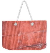 Red Metal  Weekender Tote Bag