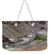 Rocky Landscape Of Leh City Ladakh Jammu And Kashmir India Weekender Tote Bag