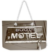 Route 66 - Boots Motel Weekender Tote Bag