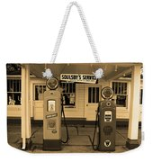 Route 66 - Soulsby Station Pumps Weekender Tote Bag