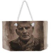 Samuel Beckett 02 Weekender Tote Bag