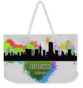 San Francisco Skyline Silhouette Weekender Tote Bag
