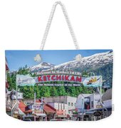 Scenery Around Alaskan Town Of Ketchikan Weekender Tote Bag