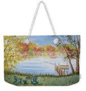 4 Seasons-autumn Weekender Tote Bag