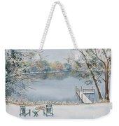 4 Seasons-winter Weekender Tote Bag