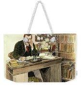 Sir Arthur Conan Doyle Weekender Tote Bag