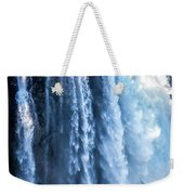 Snoqualmie Falls Washington State Nature In Daylight Weekender Tote Bag