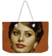 Sophia Loren, Vintage Actress Weekender Tote Bag