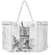 Statue Of Liberty, Paris Weekender Tote Bag