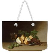 Still Life With Cake Weekender Tote Bag