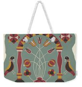 """Study For Proposed Portfolio """"decorated Chests Of Rural Pennsylvania"""" Weekender Tote Bag"""