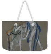 Study Of Two Dancers Weekender Tote Bag