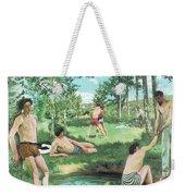 Summer Scene  Weekender Tote Bag