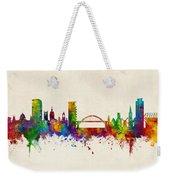 Sunderland England Skyline Weekender Tote Bag