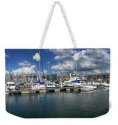 Sutton Harbour Plymouth Weekender Tote Bag