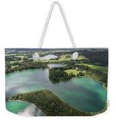 Suwalki Landscape Park, Poland. Summer Time. View From Above. Weekender Tote Bag
