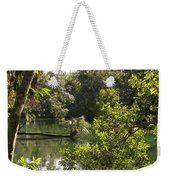 Swamp Reflection Weekender Tote Bag