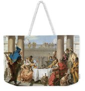 The Banquet Of Cleopatra Weekender Tote Bag