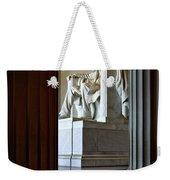 The Lincoln Memorial Weekender Tote Bag