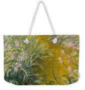 The Path Through The Irises Weekender Tote Bag