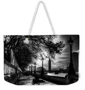 The River Thames Path Weekender Tote Bag