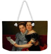 The Sisters Zenaide And Charlotte Bonaparte Weekender Tote Bag