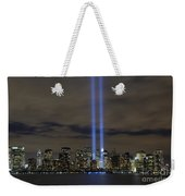 The Tribute In Light Memorial Weekender Tote Bag