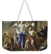 The Triumph Of David Weekender Tote Bag