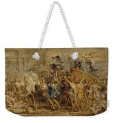 The Triumph Of Henry Iv Weekender Tote Bag