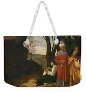 Three Philosophers Weekender Tote Bag